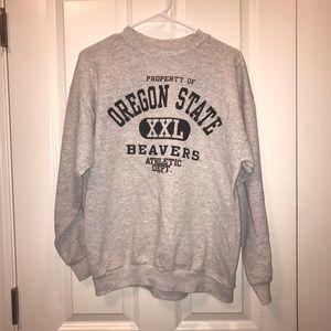 Oregon State University crew neck sweatshirt